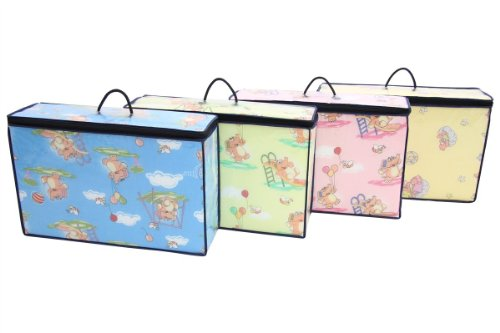 Kinder Reisebettmatratze Kinderbettmatratze Klappmatratze Baby 120x60x6cm 4 TOP FARBEN