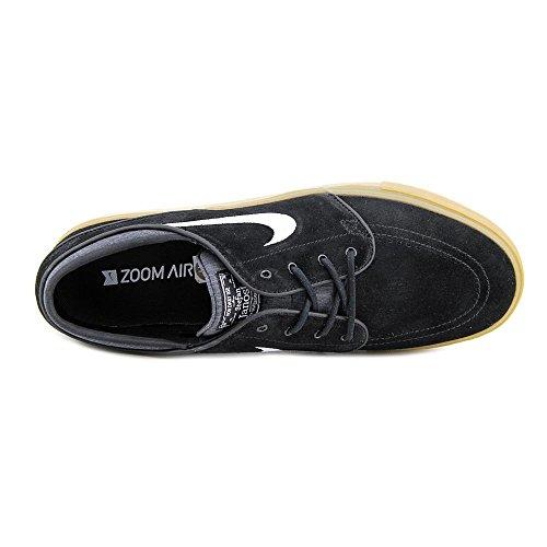 Nike  333824 026, Sneakers homme Noir / blanc / marron (noir / blanc - gomme, marron clair)