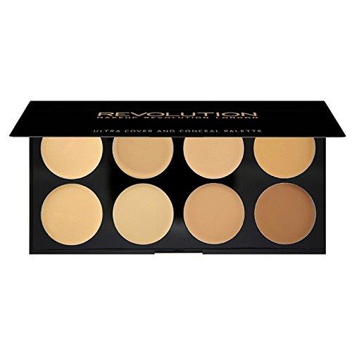 Makeup Revolution - Paleta correctores Ultra - Light-Medium