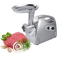 Picadora de Carne eléctrica, 800W Picadoras de Carne Salchicha y Máquina Picadora de Carne con