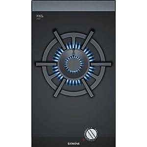 Siemens ER3A6AD70 hobs Negro Integrado Encimera de gas – Placa (Negro, Integrado, Encimera de gas, Vidrio y cerámica…