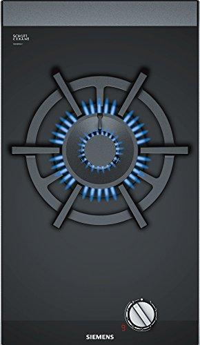 Siemens ER3A6AD70 Plaque de cuisson à gaz à encastrer - Noir