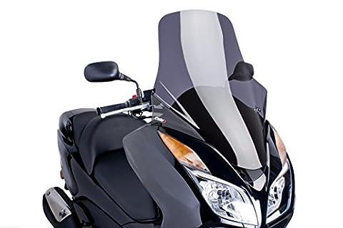 Puig 6554F Touring-glace pour Honda NS Maxiscooter S300 Forza période 2013–2015, fumé foncé Taille