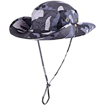 2fe3a23d9dedd Anyoo Outdoor Bonnie Transpirable Sombrero con ala Ancha SombrAnyoo Outdoor  Boonie Hat Transpirable ala Ancha Verano