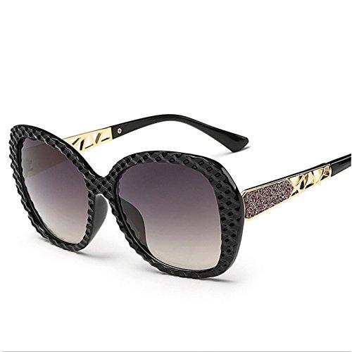 Großhandel 2 Schublade (Sonnenbrillen Mode Sonnenbrillen Lady Koreanisch Gesicht Lady Retro-Sonnenbrillen Großhandel , 2)