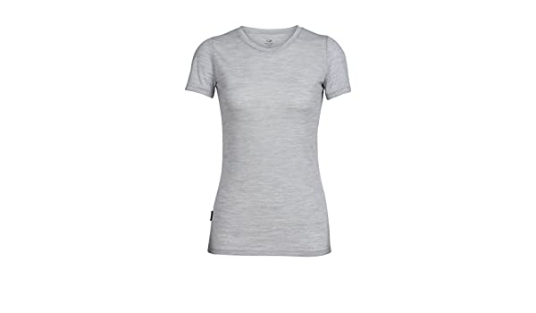 T Courtes Tech Shirt Lite FemmeBlizzard Manches Icebreaker ALR3cjq54