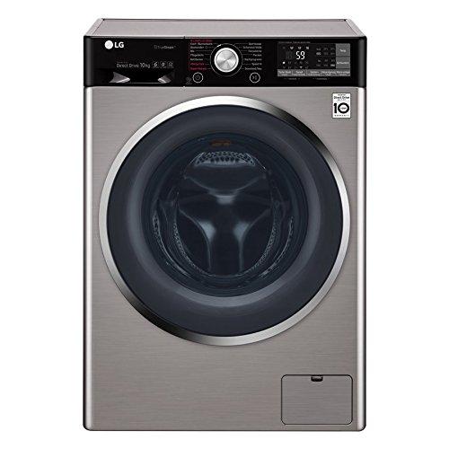 LG Electronics F 14WM 10TT6 Waschmaschine Frontlader/A+++ / 1400UpM / TurboWash/True Steam/Edelstahl