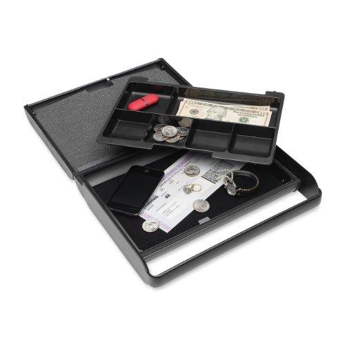 Block and Company E2217004G2 Dokumentenkassette, Slim, schlankes Design, Herausnehmbares Münzfach
