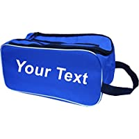 PROSTYLE SPORTS PERSONALISED Football Boot Bag/Shoe Bag New Football/Rugby/Hockey/Gym - Royal