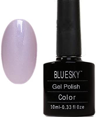 Bluesky UV LED Gel Soak Off Nail Polish, Pastel Blush