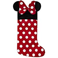 Oficial de MINNIE MOUSE calcetín de Navidad Disney