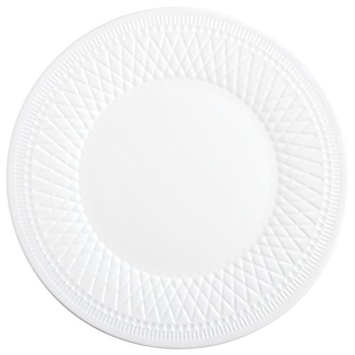 Luminarc L4634 6 Assiettes Grandes 28 cm-Alizee Perle, Blanc