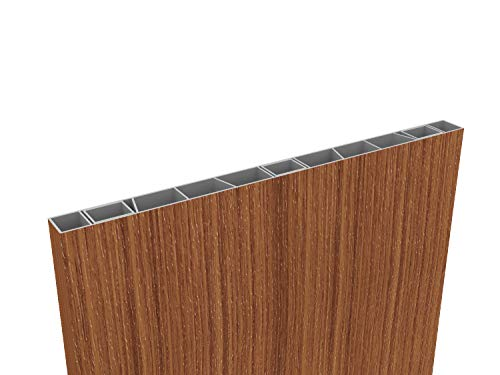 zaun kaufen de Palisaden-Sichtschutz 500 x 35mm Streifen-Douglasie, inkl Abschlusskappe
