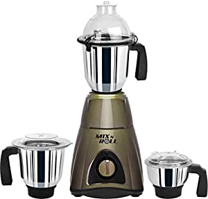 Mix N Roll MNR750 750-Watt Mixer Grinder (Grey)