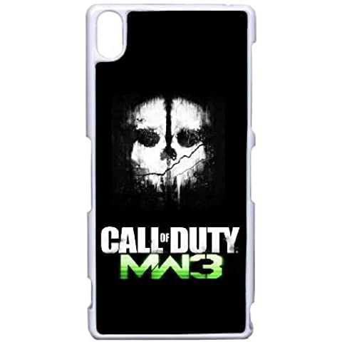 Sony Xperia Z3 Cover , call of duty ghost ps3 Cell phone case White for Sony Xperia Z3 -