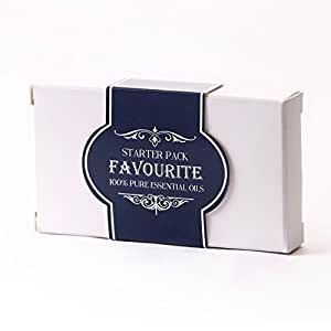 Mystic Moments Essential Oil Starter Pack - Favourites - 5 x 10ml - 100% Pure