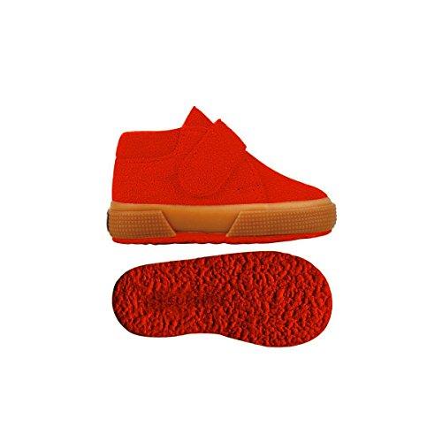 Superga 2174-Bsuj, Sneaker a Collo Alto Unisex – Bambini INDIAN RED