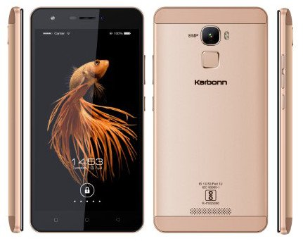 Karbonn-Aura-Note-4G-VOLTE-Mobile-Phone-Champagne-Color