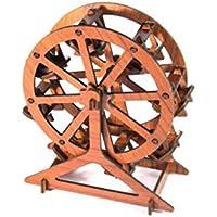 Unknow QIWei Rompecabezas de Madera 3D y Regalo de año Nuevo Magnífica decoración del hogar Rompecabezas Tridimensional,Noria Caoba