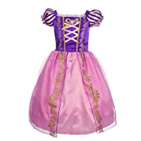 Lito Angels Girls Princess Rapunzel Costumes Girl Princess Dresses Fancy Party Dress