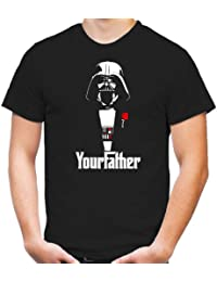 Your Father T-Shirt | Star Wars | Yoda | Science Fiction | Vader | Darth | Imperium | Crossing | Kult
