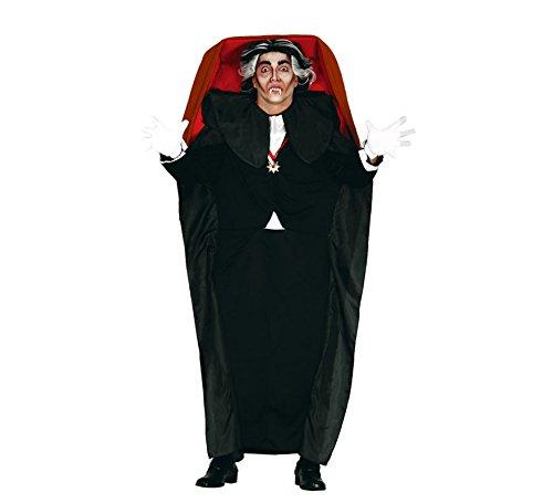 ween Kostüm für Herren Gr. M/L, Größe:L (Vampir Sarg Kostüm)