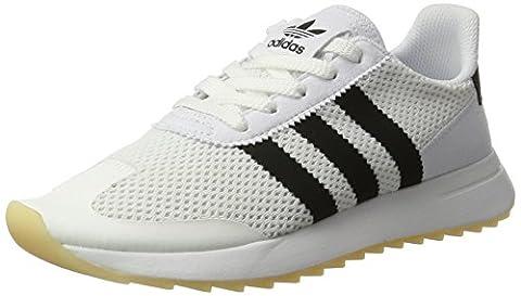 adidas Damen Flashback Sneaker, Weiß (Footwear White/Core Black/Footwear White), 39 1/3 EU