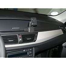 Haweko Navigationskonsole HR für BMW X1 ab Bj. 2010-, Leder Schwarz
