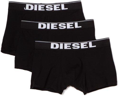 Diesel Herren UMBX-KORY Boxershorts, schwarz (Negro 900), Gr. S, 3er Pack