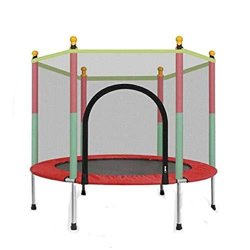 KOJO Trampolin Sprungbett, doppelter Reißverschluss, dichtes Netz, wasserdicht, mit Schutznetz