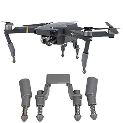 Owoda Upgraded Landing Gear Height Stabilizers Heighten Rack Anti-Shock for DJI MAVIC PRO