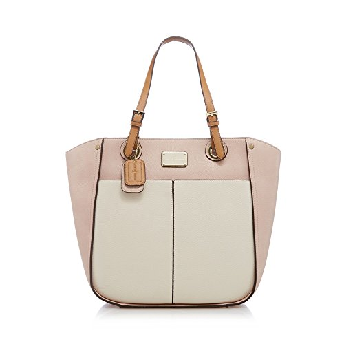 j-by-jasper-conran-womens-light-pink-enamel-plate-shoulder-bag