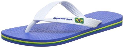 Ipanema Unisex Kinder Rio Zehentrenner, Weiß (Blue/White), 38 EU