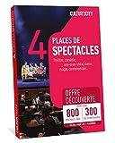 CULTUR 'in The City Coffret Cadeau Culture - 800 Spectacles - Box DECOUVERTE - 300 Salles Partout en France - Place de Théâtre, Comédie, One Man Show, Danse, Magie et Autres !