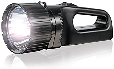 ANSMANN Arbeitsleuchte LED Future HS1000FR mit 5 W & 330 Lumen inkl. integriertem Li-Ion Akku, Netzteil & Ladestation - LED Handlampe ideal als Werkstattlampe Arbeitslampe Handleuchte Taschenlampe von ANSMANN - Lampenhans.de