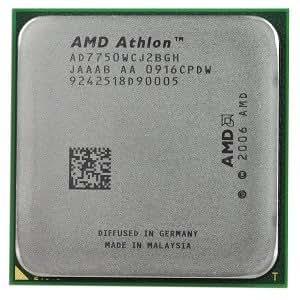 Processeur AMD Athlon 64X27750dépression 2,7GHz 2x 512Ko de cache L22Mo cache L3Socket AM2+ 95W Black Edition Processeur Dual-Core