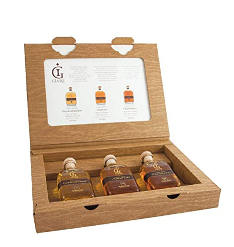 Confezione regalo'Set Giare Marzadro' 3bt x 10 cl Giare + 1 invito visita alla Distilleria valido per 5 persone