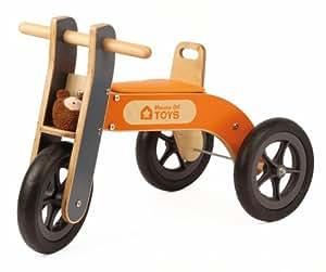 House of Toys - 772662 - Vélo et Véhicule pour enfant - Tricycle en Bois