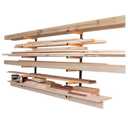 Triton 330190 Kragarmregal für Holzlagerung -