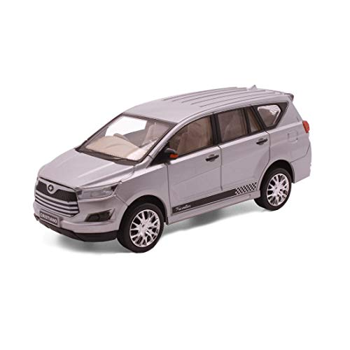 Amisha Gift Gallery® Centy Toys Car New Innovo Cristiano Pull Back Toy Model for Kids Sliver (Color May Vary as per Availability) (Sliver)