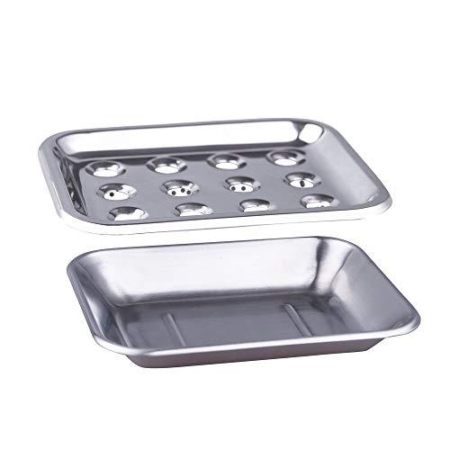 IMEEA Seifenschale Halter, Edelstahl mit Sitz für Bad Dusche Riser Küche organisiert (Küche Seifenschale)