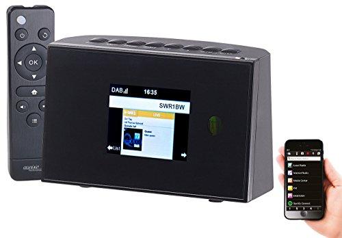 VR-Radio Internetradio-Receiver: Digitaler WLAN-HiFi-Tuner, Internetradio, UKW-Empfang, Fernbedienung (Internetradio/FM-Tuner für HiFi-Anlage)