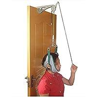 vinmax para encima de la puerta Tracción cervical dispositivo de unidad para cuello hombro Brace Dolor de Cabeza Alivio casa