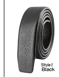 Availcx Hebilla automática de alta calidad Correa masculina Cinturón de  cuero genuino Ceinture Homme Cinturones de 23aae5d44334