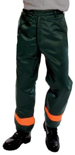 Preisvergleich Produktbild Schnittschutz-Hose 651-0-500-L Hose, Schnittschutzklasse 1 (=20 m/s), CE 0302, EN 381-5, Schnittschutz DPLF geprüft (Prüfstelle KWF), 70 % Polyester, 30 % Baumwolle, Größe L, Farbe: oliv