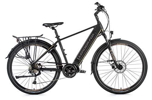 28 Zoll Alu Leader Fox Denver Gent E Bike Elektro Fahrrad Trekking Pedelec 36V 17,5Ah