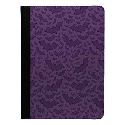 Accessories4Life Halloween Fledermäuse Muster Bedruckt Flip Etui Hülle für Apple Ipad pro 10.5 - ()