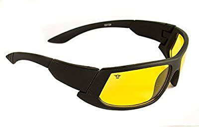 Day & Night Hd Vision Goggles Anti-Glare Polarized Uv Protected Rectangular Unisex Sunglasses(2In1)
