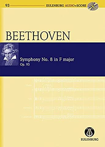 Symphony No.8 in F Major, Op. 93 - Eulenburg Audio+Score - orchestra - study score with CD - (EAS