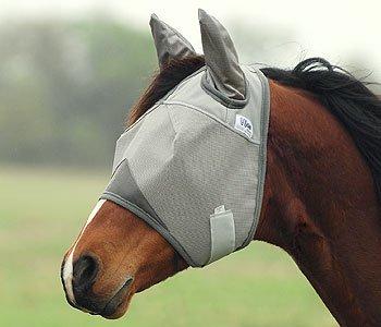 Cashel Crusader Fly Mask UV-Schutz Fliegenmaske mit Ohren -